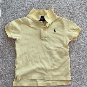 Infant Short Sleeve Polo. Size 24 months.